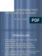 K-7 Uji Tapis (Screening Test)