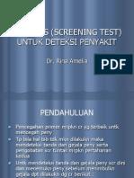 K-7 Uji Tapis (Screening Test)