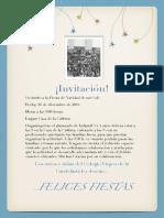 invitacion navidad 2014