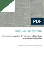 Manual EndNoteX4