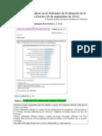 Ejercicios de Evaluación y Análisis de La Expresión Escrita DELE B2