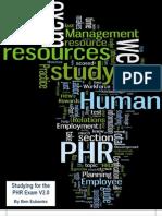 PHR Study SeriesV2.0