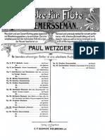 Demersseman Fantasia Sur Oberon Op52 (Flute)