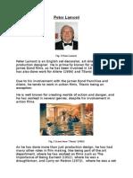 Production Designer Research - Peter Lamont