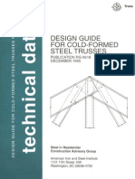 Design Guide for Cold formed Steel Trusses
