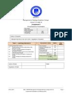 DBSM701 Learner Assessment 3 - Management of Strategic Bussiness Change V5