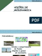 4.Noções de Hidrodinâmica