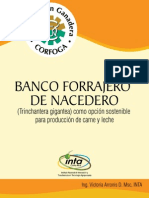 Boletín Forrajero de Nacedero