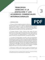 LOS PRINCIPIOS DEL DERECHO A LA ALIMENTACIÓN Y LOS ACUERDOS COMERCIALES INTERNACIONALES