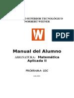 Matematica Aplicada II