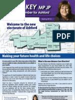 Steph Key MP Ashford Newsletter - Spring 2014