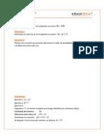 Ejercicios Ecuaciones Simples