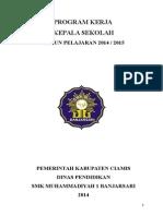Program Kerja Sekolah 2014-2015
