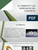 El Cemento y Los Agregados Del Concreto