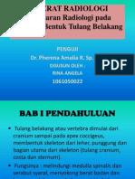 Gambaran Radiologi Kelainan Bentuk Tulang Belakang, dr. Pherena Amalia, Sp. Rad