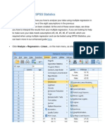 Test Procedure in SPSS Statistics