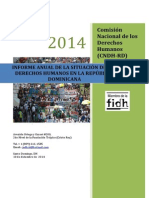 Informe CNDH año 2014