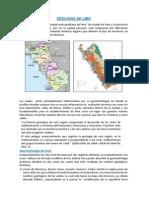 Geomorfologia Del Valle de Lima