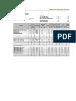 Calculo de Flete 2014 - Materiales