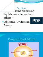 Matter and Atoms Revised