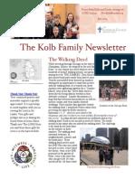 Kolb Family Newsletter July 2014 PDF