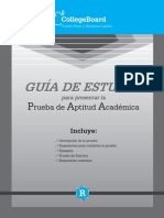 Guía PAA College Board