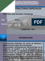 estructuras especiales