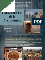 Características Arq. Islamica