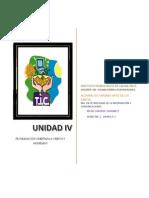 Unidad IV- Investigacion 4.1 y 4.2- Ortiz de Los Santos Isis Virginia