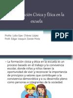 La Formación Cívica y Ética en La Escuela