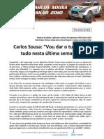 Press Carlos Sousa 10-01.09