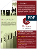 Mu Sigma Flyer - India