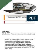 Dampak NAPZA ( fisik )