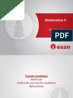Mate II-Semana 3-Funcion Cuadrática 2013-II