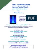 Coerenza e Comunicazione Pnl Practictioner 2012
