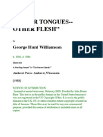 Other Tongues - Other Flesh by George Hunt Williamson