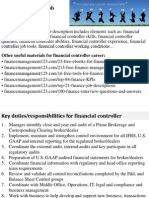 Financial Controller Job Description