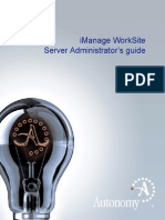 Worksite Server Administrators Guide 8 5 English
