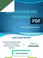 Motivación Del Personal (1)