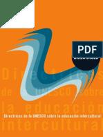 Directrices Para Una Educación Intercultural Unesco