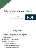 dr. nurman--Polip Nasal dan Septum Deviasi.pptx