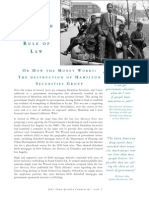 The Myth of Rule of Law