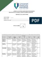 PDI_F1 Report Evaluation