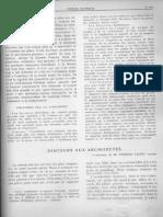 11 f - Fernard Leger - Discours Aux Architectes