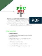 Pvc Rocket Motor - How to Make It - Diy