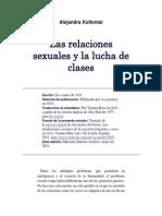 Alejandra Kollontai las relaciones sexuales y la lucha de clases