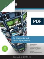 Ratgeber für Digital Signage und Audio/Video-Distribution (White Paper)