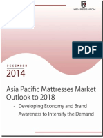Asia Pacific Mattresses Market Outlook to 2018