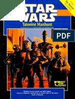 WEG40005 - Star Wars - Tatooine Manhunt (1st Edition)