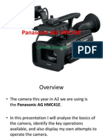 Panasonic AG HMC41E Presentation